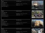 EXIF metadata to display camera settings